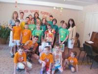 До дня захисту дітей співробітники спорткомплексу відвідали будинок малютки, дитячий будинок та обласний притулок