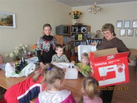 У свято Весни, Краси і Ніжності співробітники спорткомплексу відвідали вихованців Черкаського дитячого будинку