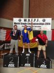 7-8 червня 2014р. в Дюсельдорфі (Німеччина)  Чемпіонат світу з пауерліфтингу