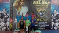 Чемпіонат  ЄвроАзії з пауерліфтингу (червень, 2015)